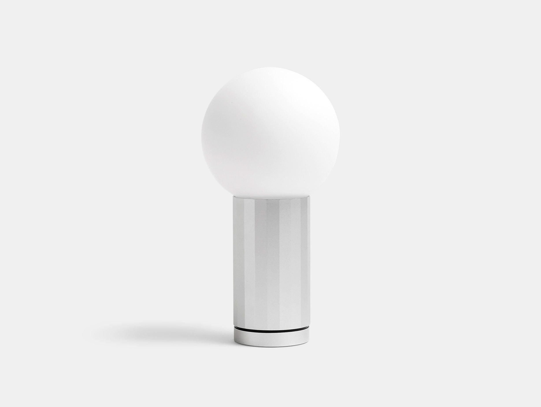 Hay Turn On Table Lamp Aluminium Joel Hoff
