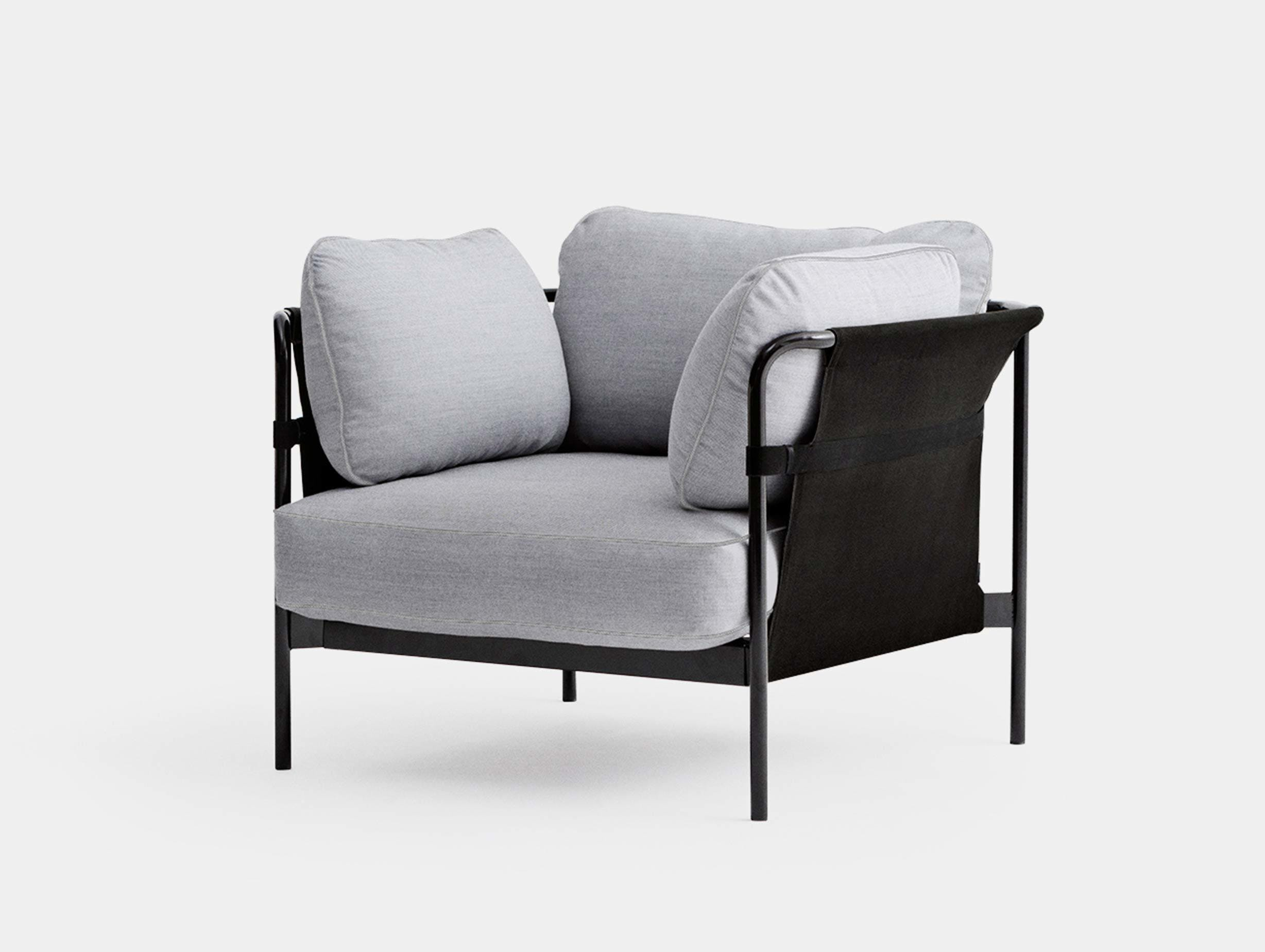 Hay can armchair surface120 black black