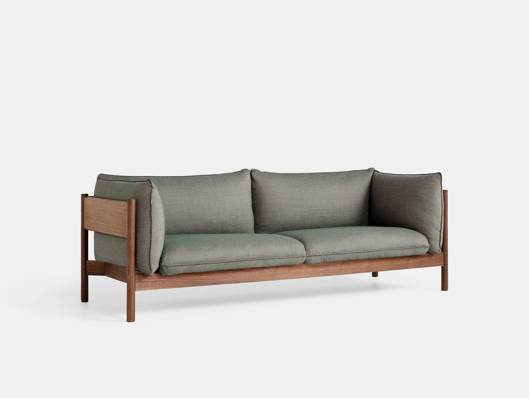 Hay arbour 3 seater sofa atlas 931 walnut
