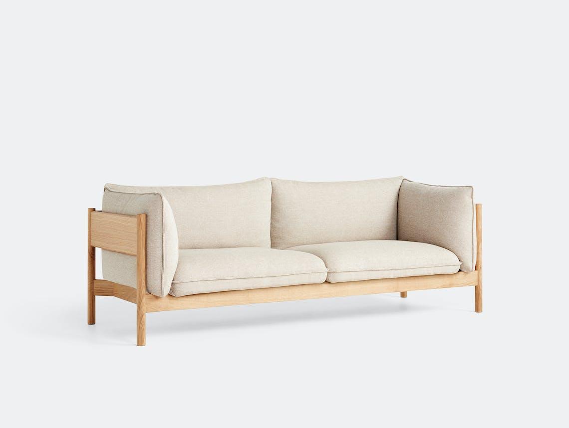 Hay arbour 3 seater sofa hall 220 oak