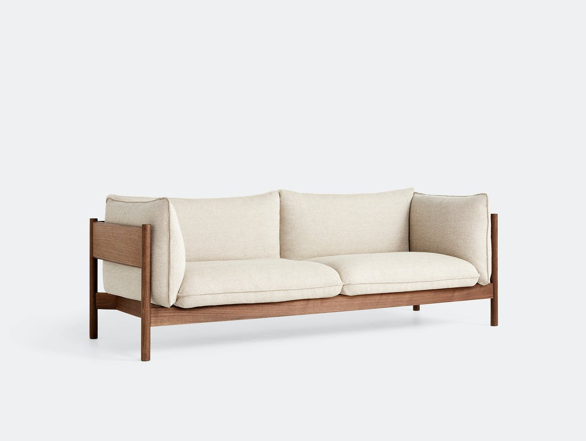 Hay arbour 3 seater sofa hall 220 walnut