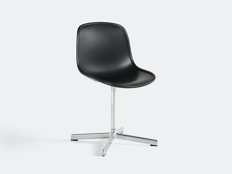 Hay neu 10 chair black w aluminium base