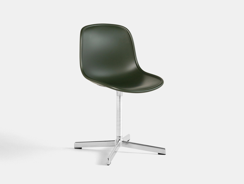 Hay neu 10 chair green w aluminium base