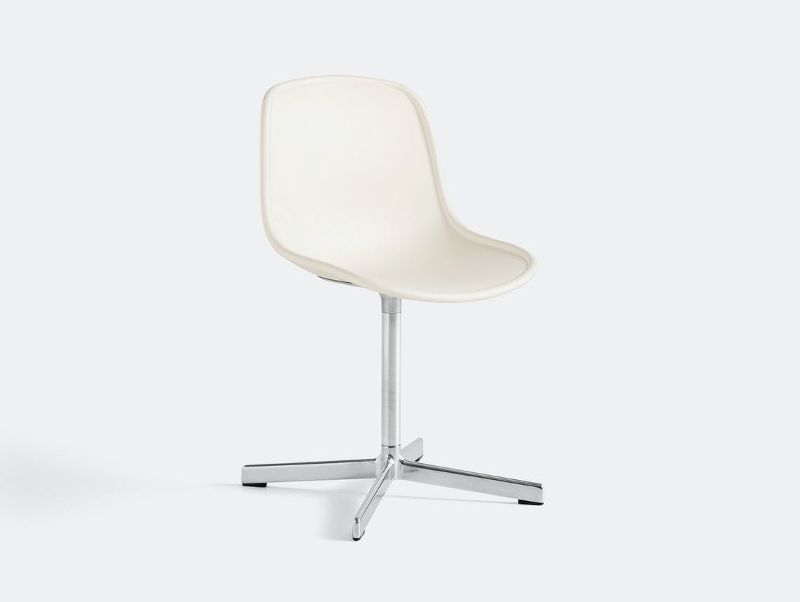 Hay neu 10 chair white w aluminium base