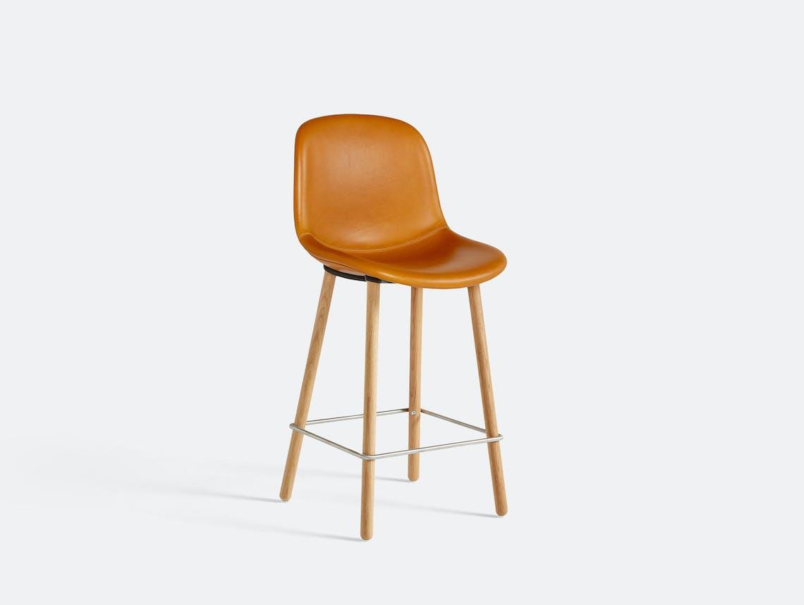 Hay neu bar stool counter uph oak silk 0250