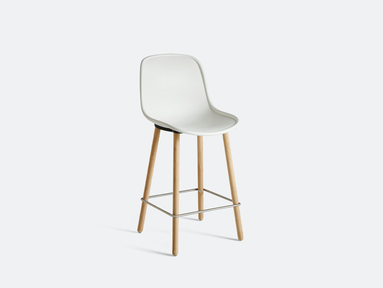 Hay neu bar stool counter white oak