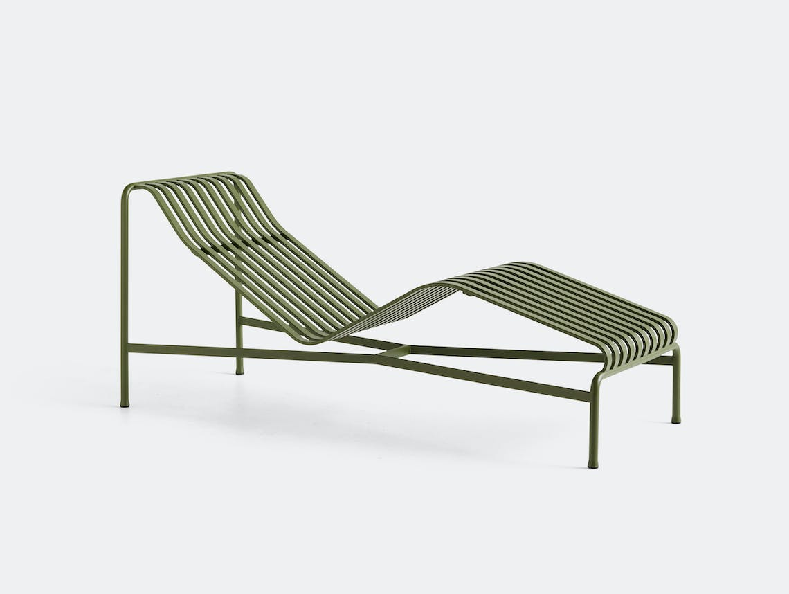 Hay palissade chaise green