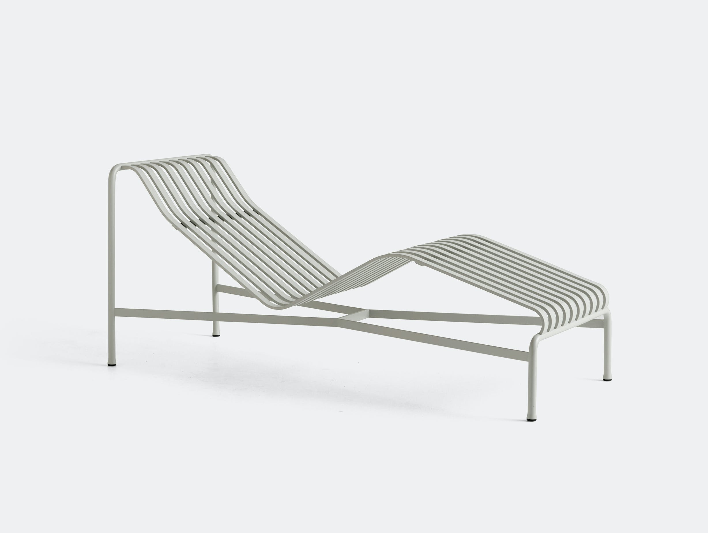 Hay palissade chaise grey