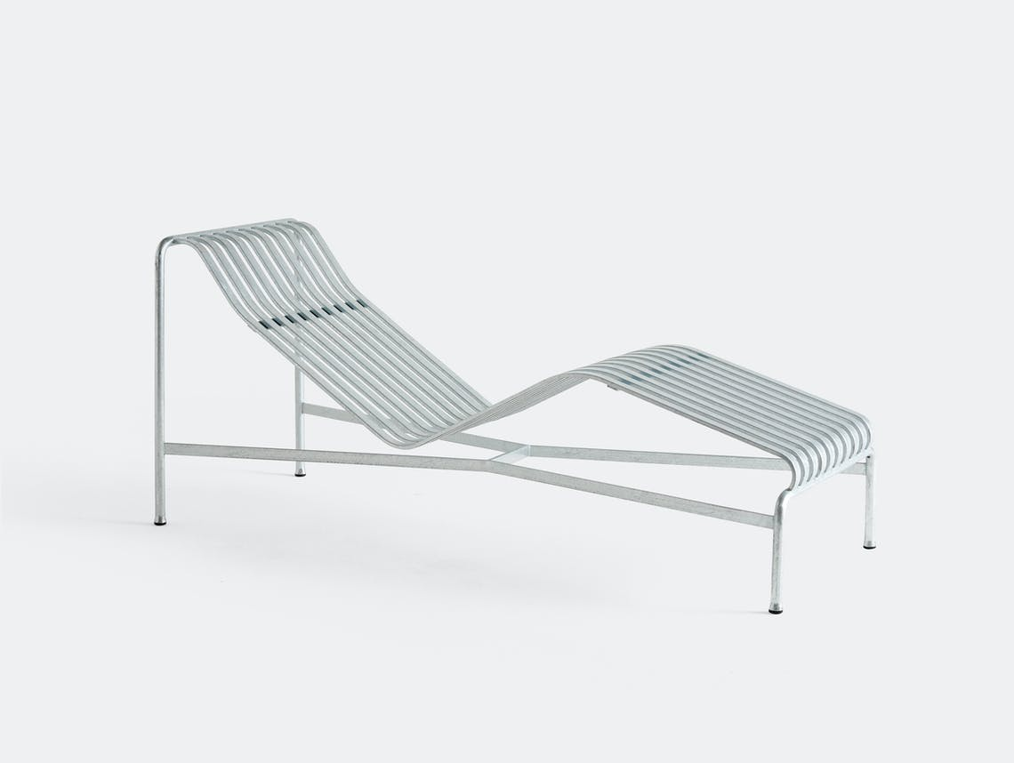 Hay palissade chaise longue hot galvanised