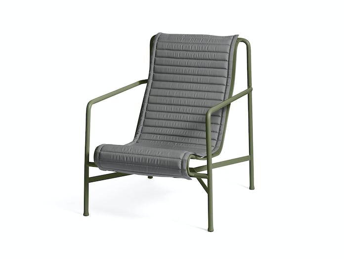 Hay palissade high lounge chair quilted pad 2