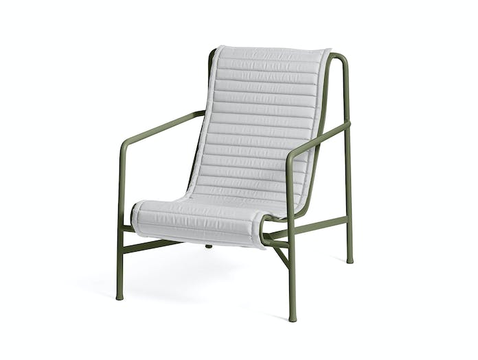 Hay palissade high lounge chair quilted pad 6