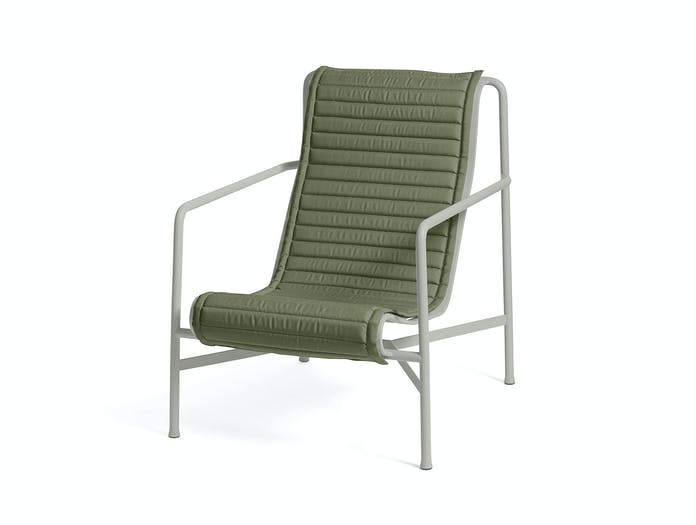 Hay palissade high lounge chair quilted pad 8