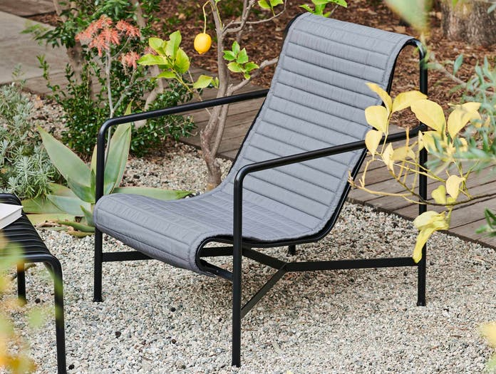Hay palissade high lounge chair quilted pad ls 2 1