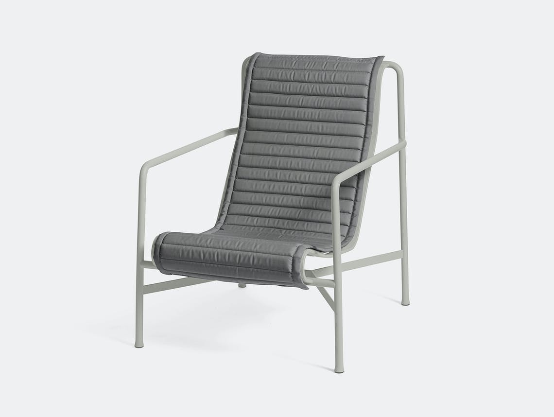 Hay palissade high lounge chair quilted pad