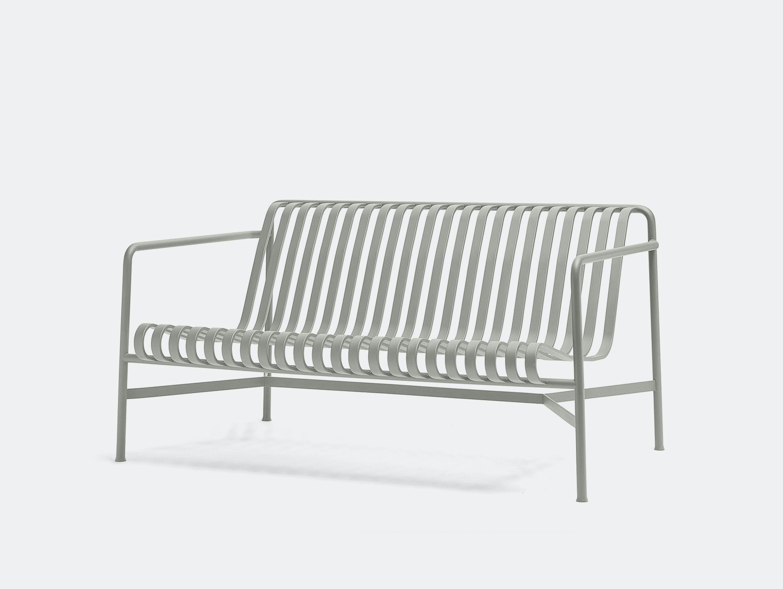 Hay palissade lounge sofa sky grey