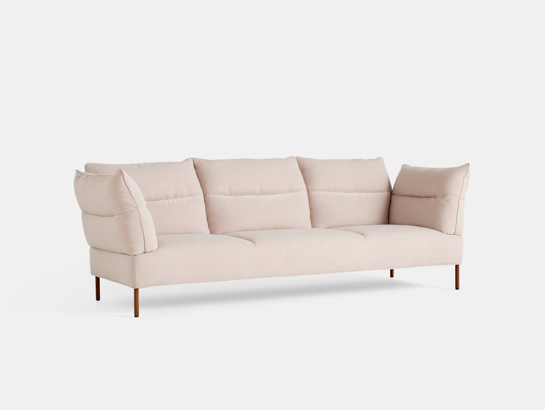 Hay pandarine 3 seat sofa recline pink walnut
