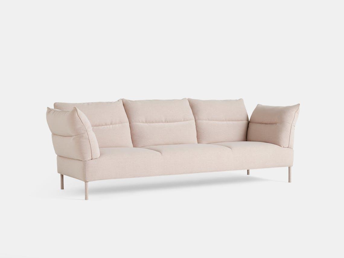 Hay pandarine 3seat sofa reclining pink