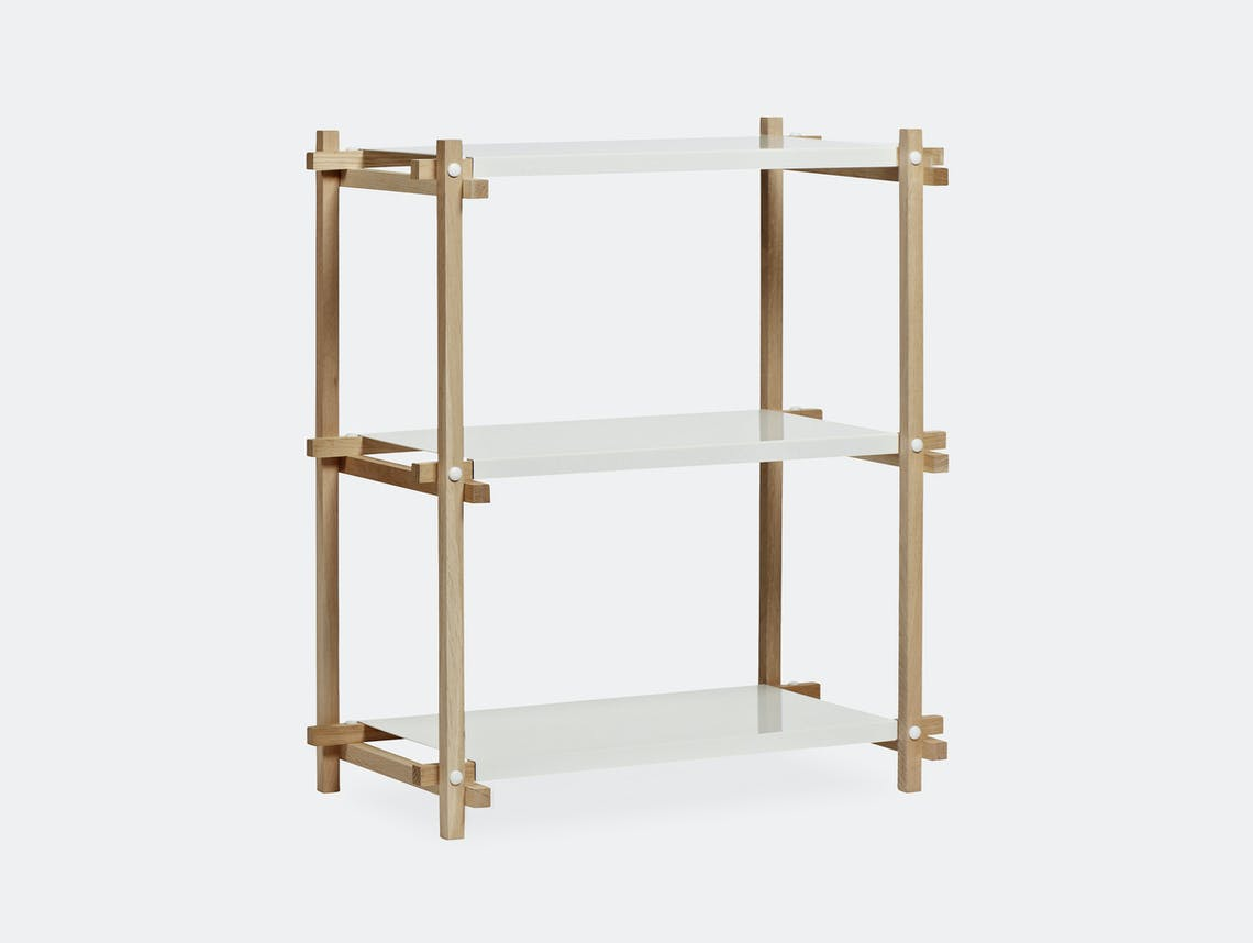 Hay woody low column shelf ct