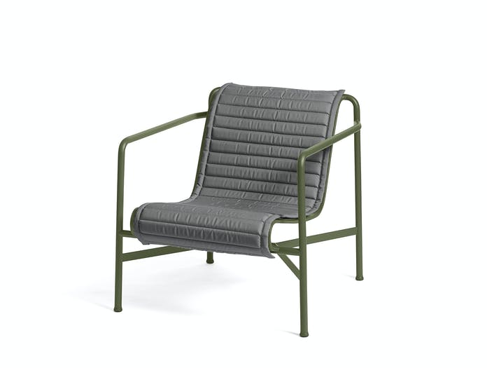 Hay palissade low lounge chair w quilted pad 2