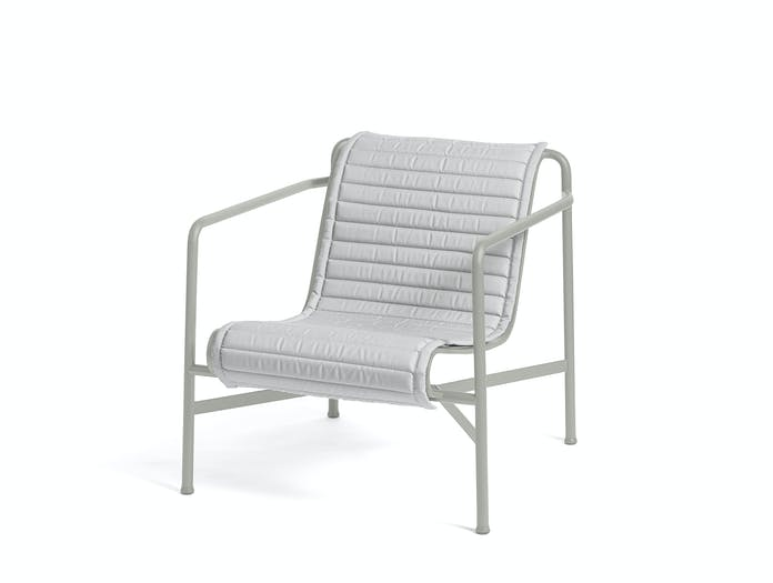 Hay palissade low lounge chair w quilted pad 4
