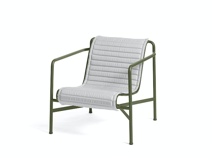 Hay palissade low lounge chair w quilted pad 5