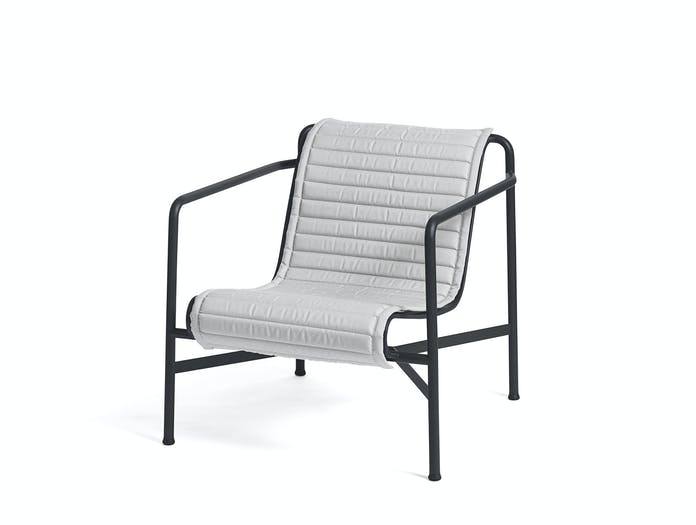 Hay palissade low lounge chair w quilted pad 6