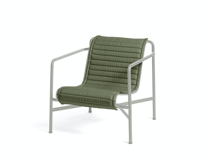 Hay palissade low lounge chair w quilted pad 7