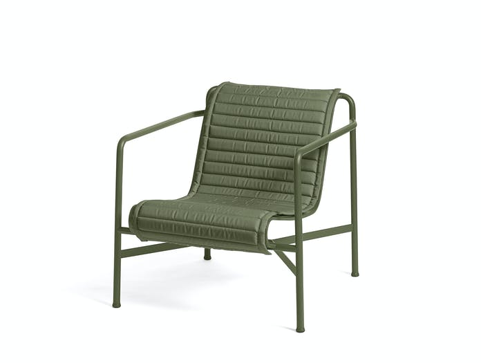 Hay palissade low lounge chair w quilted pad 8