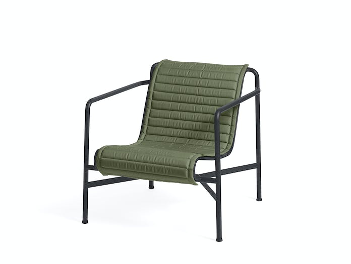 Hay palissade low lounge chair w quilted pad 9