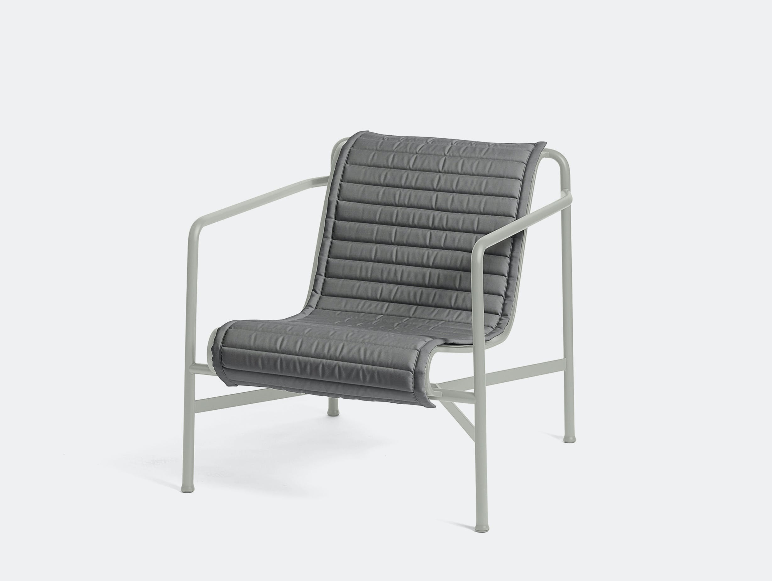 Hay palissade low lounge chair w quilted pad