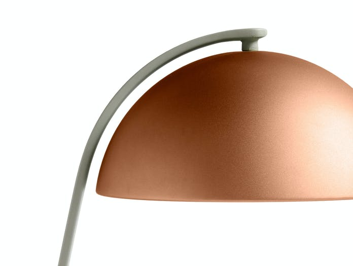 HAY cloche table lamp mocca cl
