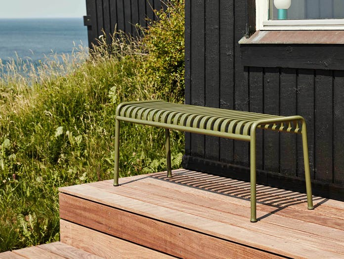 HAY palissade bench olive ls 3