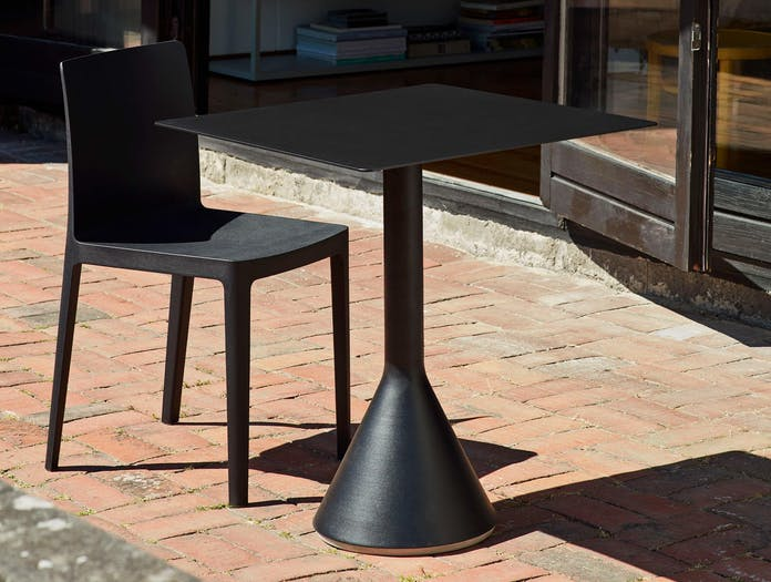 HAY palissade cone table square anthracite ls 2