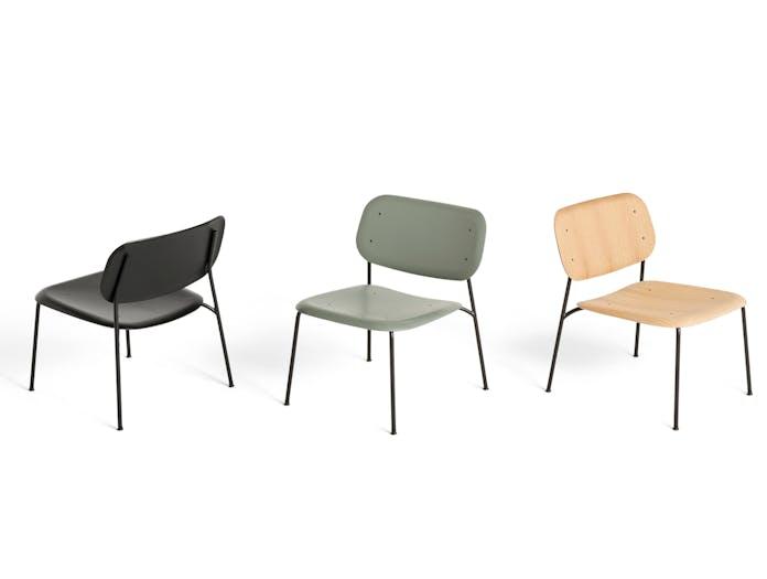 HAY soft edge 10 lounge chair group