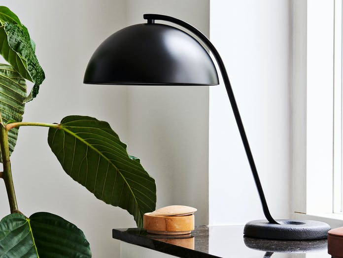 Hay Cloche Lamp Black
