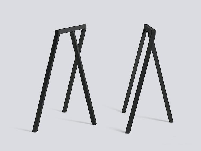 Hay Loop Stand Frame Black