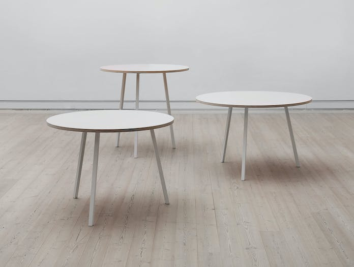Hay Loop Stand Round Table Collection
