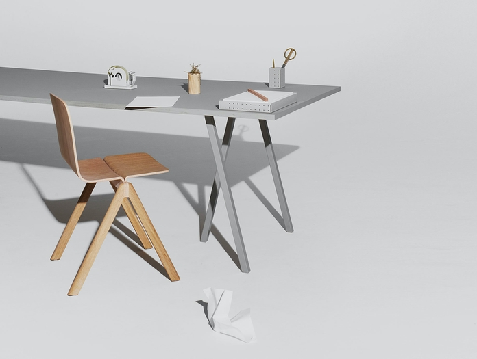 Hay Loop Stand Table L250 Grey 02