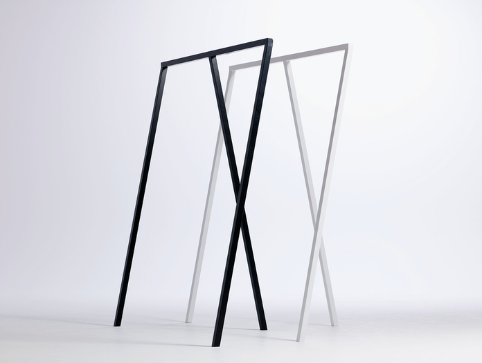 Hay Loop Stand Wardrobe Black And White