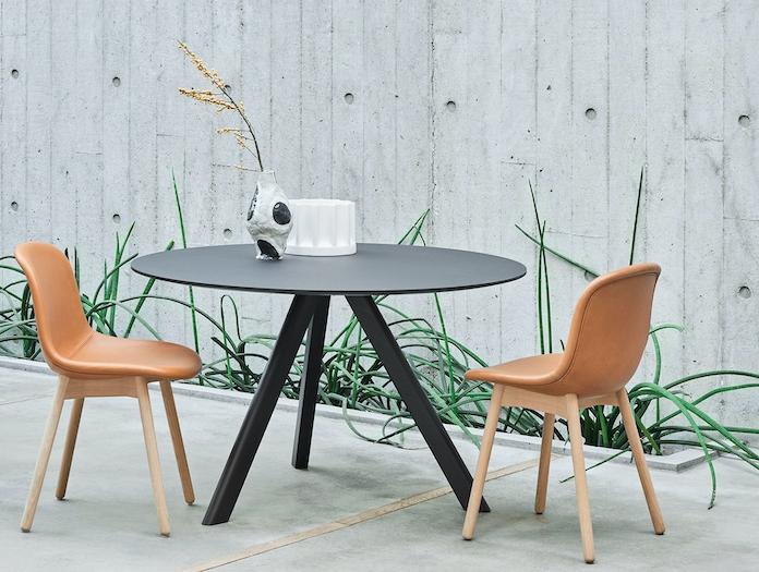 Hay Neu13 Chair Oak Matt Lacquer Base Silk