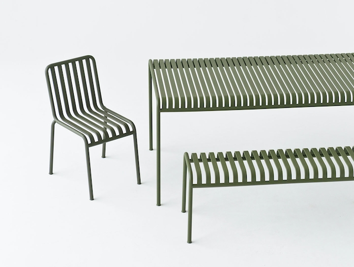Hay Palissade Table Bench And Chair Ronan And Erwan Bouroullec