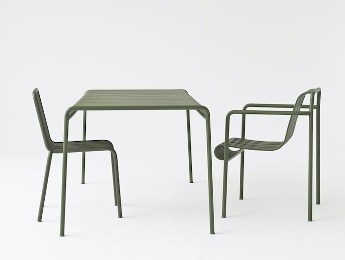 Hay Palissade Table And Chairs Ronan And Erwan Bouroullec