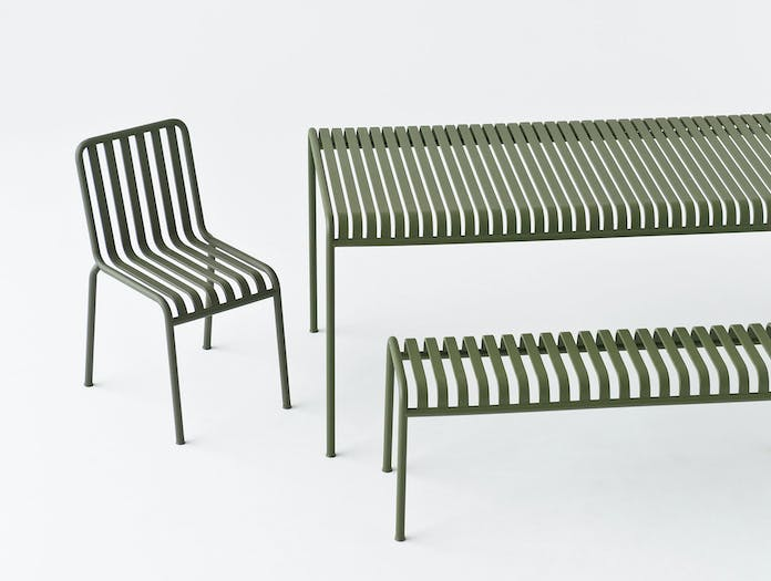 Hay Palissade Chair Table Bench Olive Ronan Erwan Bouroullec