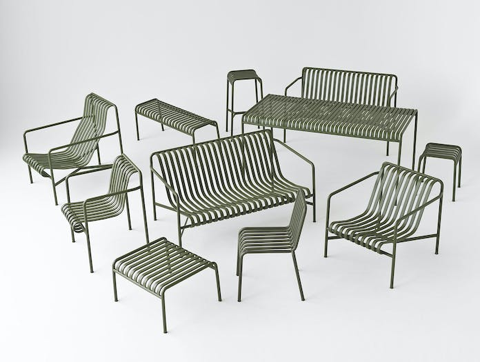 Hay Palissade Collection Olive Ronan Erwan Bouroullec