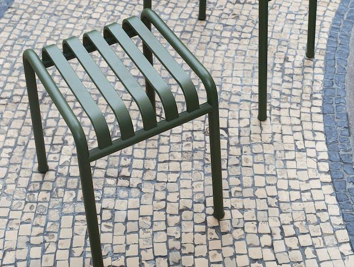 Hay Palissade Low Stool Detail Ronan Erwan Bouroullec