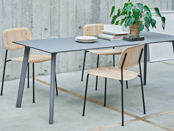 Hay Soft Edge10 Chair Oak Matt Lacquer 01