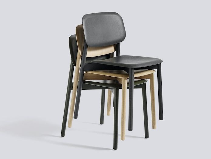 Hay Soft Edge12 Chair Stack