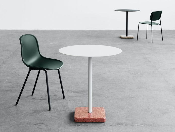 Hay Terrazzo Table Neu Chair 01