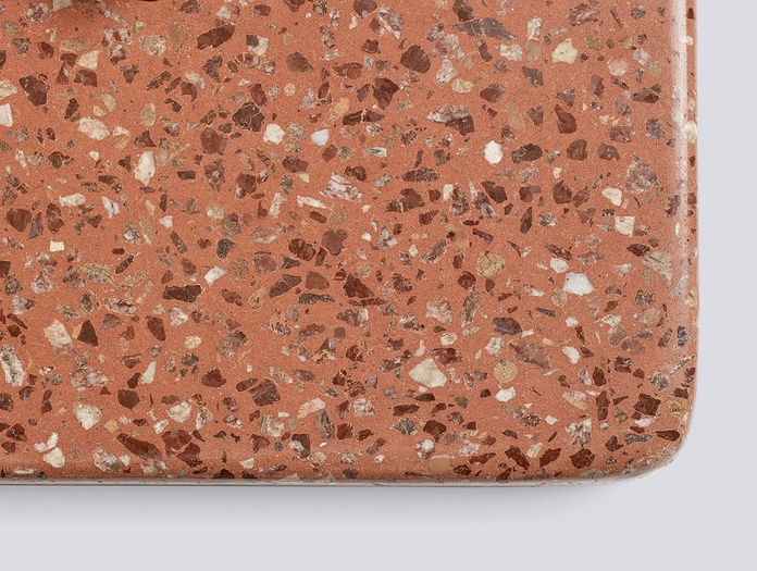 Hay Terrazzo Table Red Base