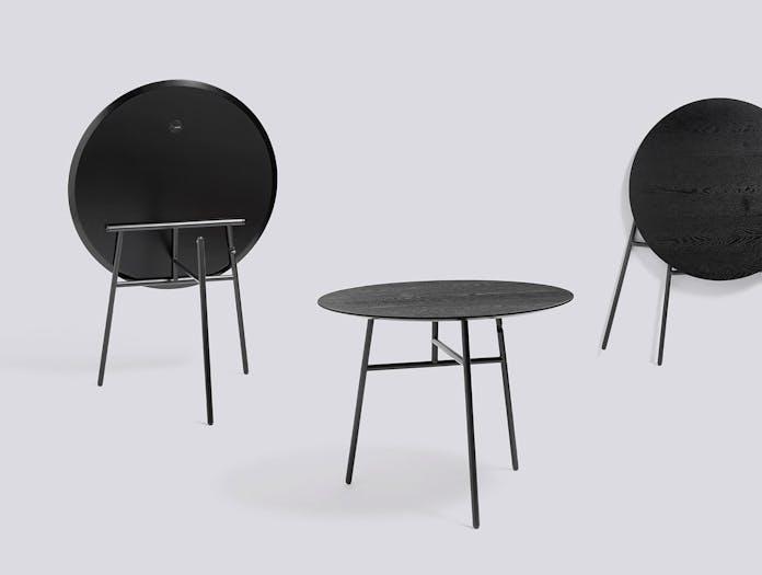 Hay Tilt Top Table Black 02